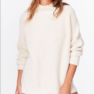 Urban Outfitters Mockneck Knit Sweater